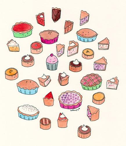 Pie vs. Cupcake