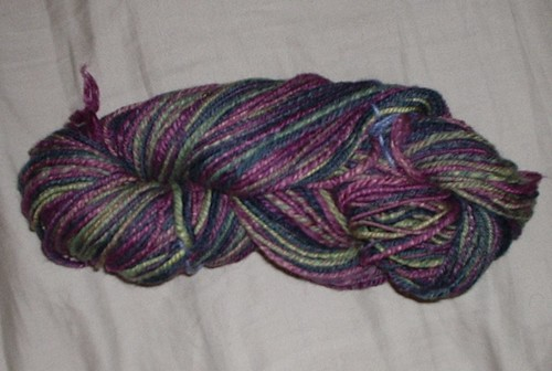 Tour de Fleece 2008 yarn