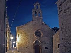Chiesa S.Spirito (mizaweb) Tags: night croatia croazia hvar notturno chiesasspirito