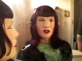 robot in mirror (Samuel Schwenneker) Tags: robot fembot android gynoid 24seven femalerobot brexxa brexxa1