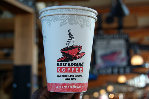 Salt Spring Coffee Cup
