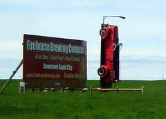 Firehouse Brewing Company (Jenni Reynolds-Kebler) Tags: auto house brewing truck fire automobile south firetruck company firehouse dakota