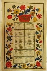 1968 Calendar 013 (emmajay2008) Tags: vintage tea towels screened