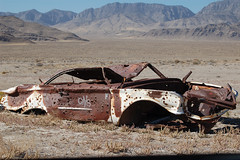 Abandoned and neglected (holdit.) Tags: ford abandoned trash lost utah 60s rust shot mercury delta holes rusted discarded derelict pathetic discard openrange bulletholes abused escaped castoff needspaint miningdistrict westernutah ibexwell desertwreck jmichaelraby