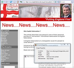 English Democrats Screenshot