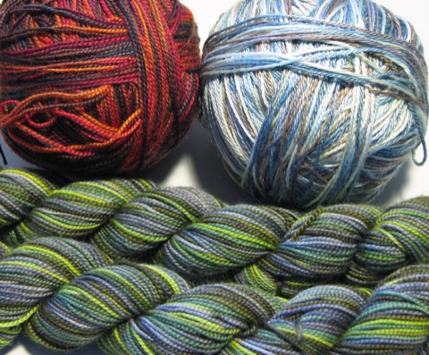 Multi-colored Sock Yarns