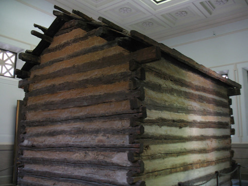 Abraham Lincoln Birthplace (4) - The Cabin