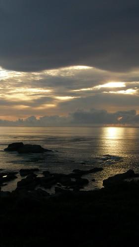 42.金黃的日出灑落海面 (4)
