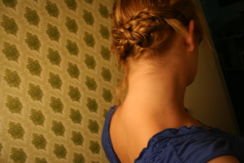 I think I wore a french braid every day of 5th grade.