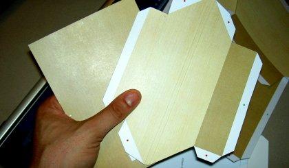 Material Papier Rahmen (Papercraft)
