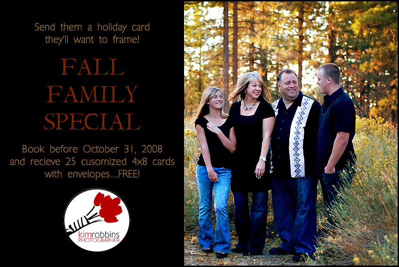 fall family special