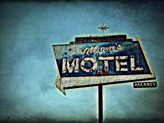 Mom's Motel (Sheree Altobelle) Tags: california old sky texture abandoned sign canon vintage dead rust san neon photographer motel retro moms joaquin 99 valley signage visalia centralvalley centralcalifornia ghostbones tulare tularecounty oldneonsigns powershotsd870is amongstthethorns shereealtobelle