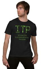 ITP T-Shirt (Circuits & LEDs) - Model View