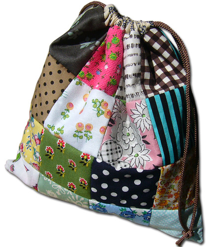 Reversible Patchwork Bag