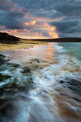 "Thumbnail Trophy Hunters (jasontheaker) Tags: ocean sunset sea beach water rock landscape photography bay movement sand cornwall earth turquoise surreal atlantic estuary photograph padstow cornish landscapephotography ""jasontheaker"" pprowinner ""cameltrail"" ""camelestuary"""