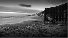 summer bye bye (germ@in) Tags: nuvole mare spiaggia wintersea anzio maredinverno seawinter