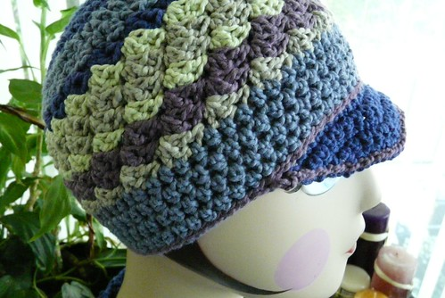FO: Crochet Cap and Scarflet