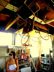 my old studio and throwing chair (zach~) Tags: beach gulfofmexico stpetersburg tampa kilns florida lovers clay usf eckerdcollege