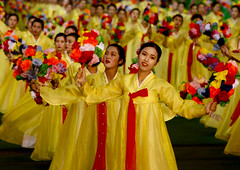 Arirang North korea  (Eric Lafforgue) Tags: pictures show travel people woman girl yellow canon asian photo women war asia stadium crowd picture korea grace kimjongil asie coree journalist journalists northkorea pyongyang  dprk  coreadelnorte arirang juche kimilsung nordkorea 3577 lafforgue   ericlafforgue   coredunord coreadelnord  northcorea beautyu coreedunord rdpc  insidenorthkorea massgame  rpdc   demokratischevolksrepublik coriadonorte arirand  kimjongun coreiadonorte