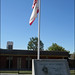 Canyon High School flag pole
