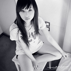 Eve (AehoHikaruki) Tags: life light portrait people blackandwhite bw cute girl beautiful fashion nice interesting asia photos sweet album great chinese taiwan lazy taipei lovely     bellissima   ostrellina
