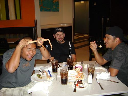 interbike 2008 with RL, Moe and Joe