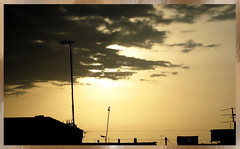 ANGUISH /    (Mostafa Bokharaeian) Tags: sunset sky cloud anguish mostafa            lightproof