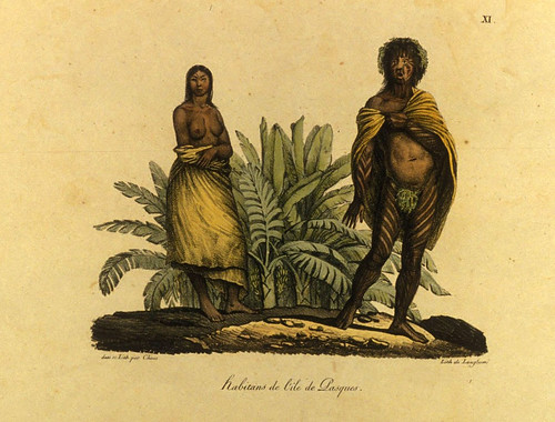 002- Habitantes de la isla de Pascua