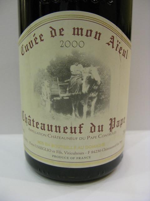 2000 Domaine Pierre Usseglio & Fils Châteauneuf-du-Pape Cuvée de mon Aïeul