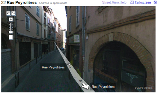 google street view france