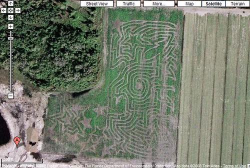 Long Scotts Farm Corn Maze