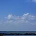 海岸の青色