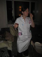 Heh - den er frk... (Sakena) Tags: marie friend sygeplejerske polterabent