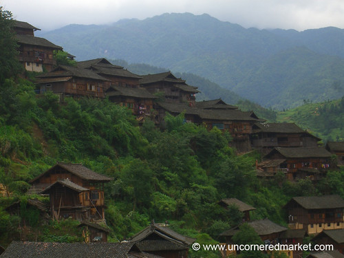 Miao Houses of Xijiang