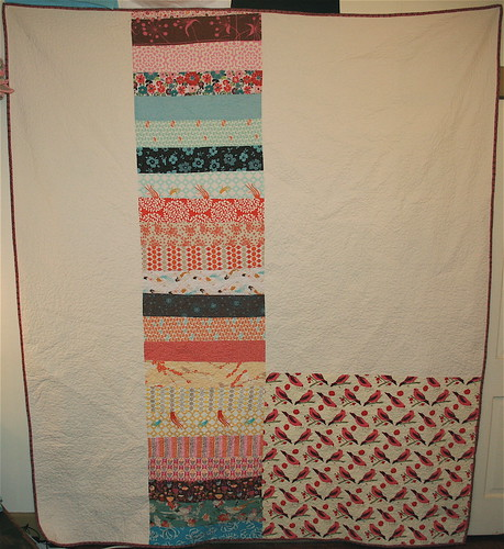 Land & Sea Quilt - Back