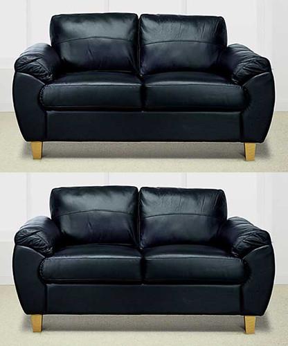 Andria black sofa