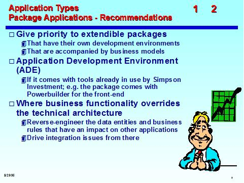 EA Deliverable: Architecture Strategy: Application Types (sample)