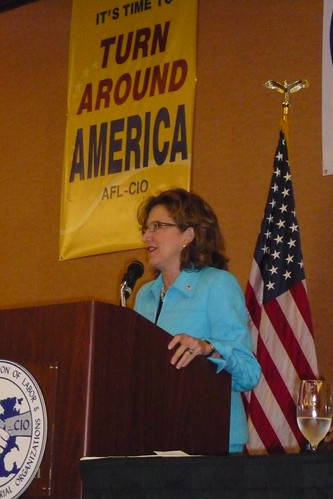 Picture of Kay Hagan at 2008 Convention
