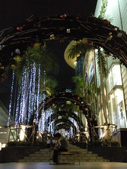 Siam Paragon at night 3