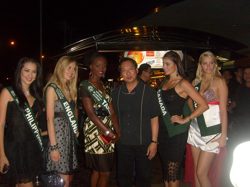 The candidates of Ms. Earth 2008