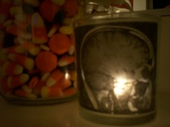 Skull Votive Candle