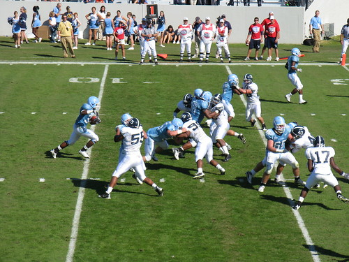 Tailgatin' comes before Charleston's own Citadel Bulldogs take the field. We think our pretty blue labels match the guys jerseys.