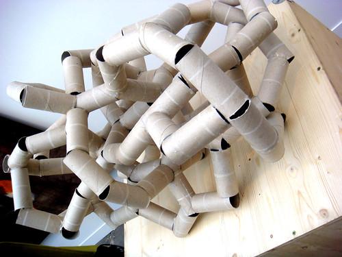 toilet roll monster