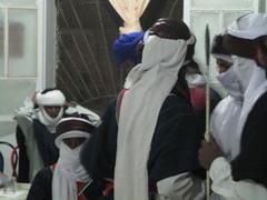 group aghr tuareg fighter dance djanet (touareg djanet) Tags: tuareg tassili djanet izlmane elmihane wwwdesertconvoy9fcom sebiba