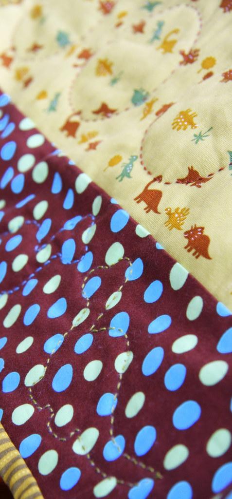 Closeup of Ben's Playmat