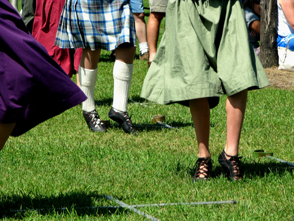 Highland Dancers, Rock and Renaissance Fest, Ishpeming Michigan 2008, photo copyright Kim Nixon