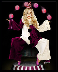 Britney Spears- Circus Clown (gorigo) Tags: purple spears circus clown britney blend goripanda
