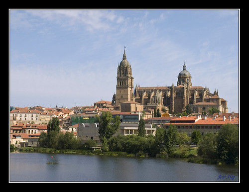 El Tormes y Salamanca por José Mtg.