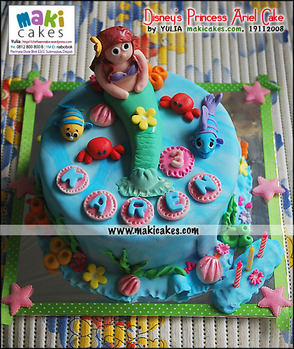 disney princesses ariel. Disney#39;s Princess Ariel Cake
