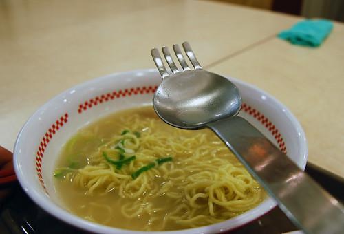 La cuillères fourchette de Sugakiya